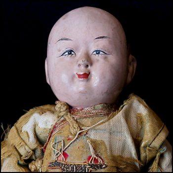 Antique Ichimatsu Gofun Doll