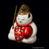 Antique Japanese Gosho Doll With Fish