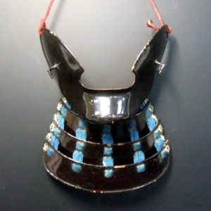 Antique Samurai Face Guard