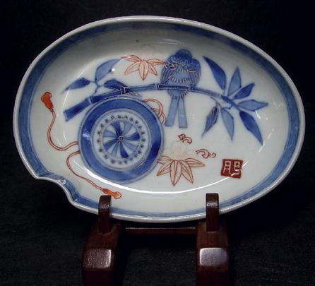 Antique IMARI SOME-NISHIKI Pair of Plates