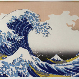 Hokusai Woodblock The Great Wave off Kanagawa
