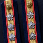WWII Japanese Army Captain Shoulder Boards