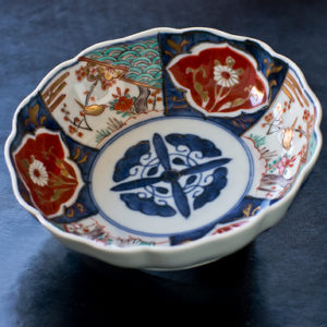 EDO Era Antique Imari Namasu Bowl