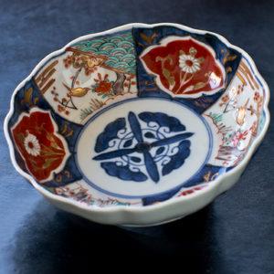 EDO Era Antique Imari Namasu Bowl