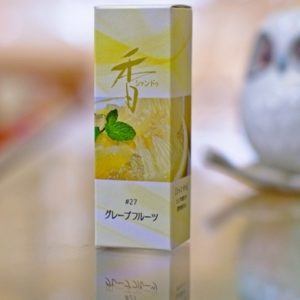 Shoyeido Xiang-do Grapefruit Incense 20 Sticks