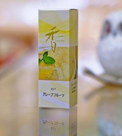 Shoyeido Xiang-do Grapefruit Incense 20 Sticks