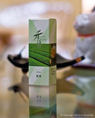 Shoyeido Xiang-do Sencha Green Tea Incense 20 Sticks
