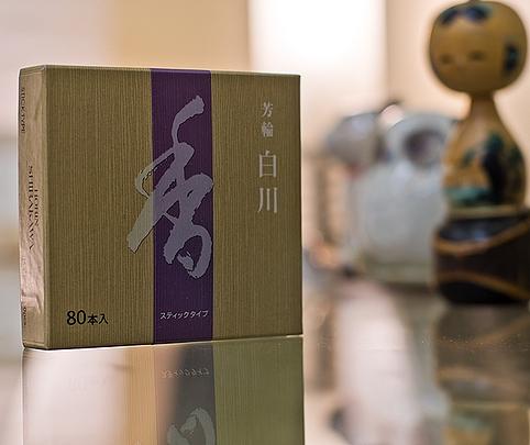 Shoyeido Shirakawa White River Incense 80 Sticks