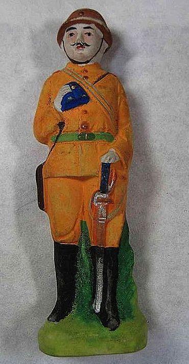 WWII Japanese Army Officer Ningyo Figurine