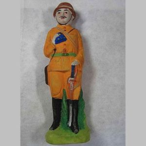 WWII Japanese Army Officer Ningyo Figurine