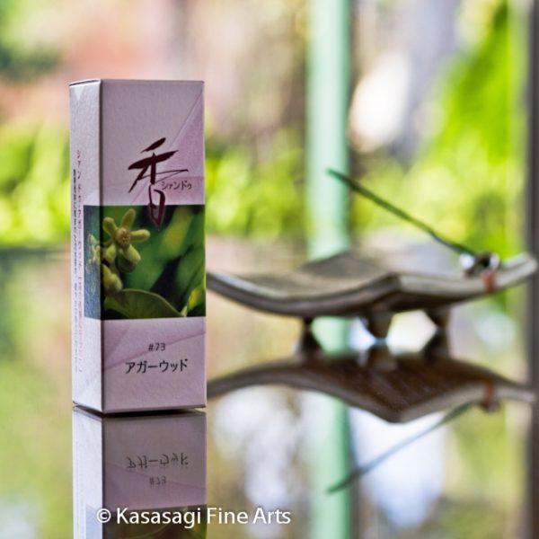 Shoyeido Xiang-do Agarwood Incense 20 Sticks Or 120 Sticks