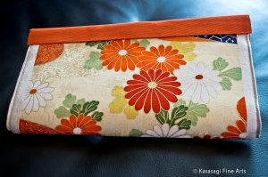 Japanese Clutch Bag Handmade in Melbourne