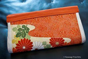 Japanese Clutch Bag Handmade in Melbourne