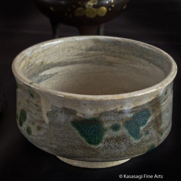 1950s Signed Mino Ware Tea Ceremony Bowl
