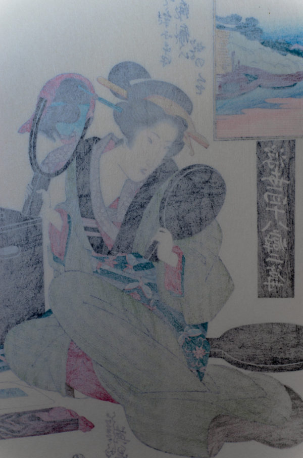 Eisen Woodblock A Passion For Caring For Ones Hair