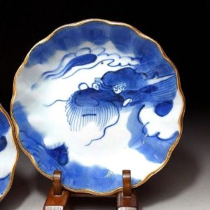 Two 19th Century IMARI Dragon Bowls