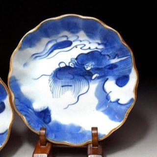 Two 19th Century IMARI Dragon Bowls