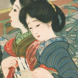 Early 1900s Shinsui ITO Lithograph