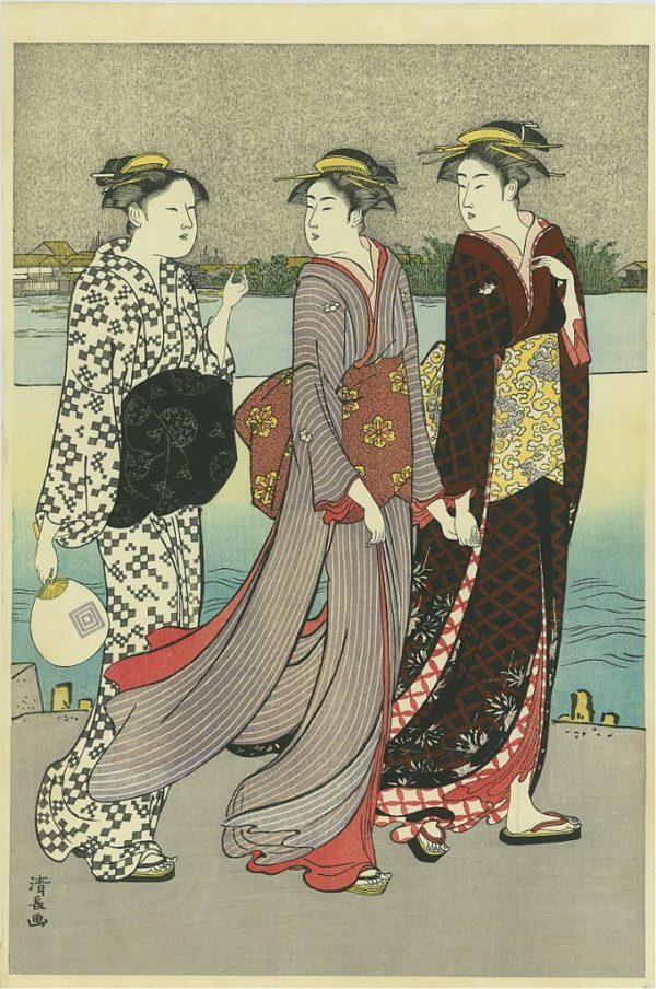 Torii Kiyonaga Online Gallery of Woodblock Prints