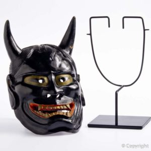 Antique Hannya Mask Signed Masanao of Ise