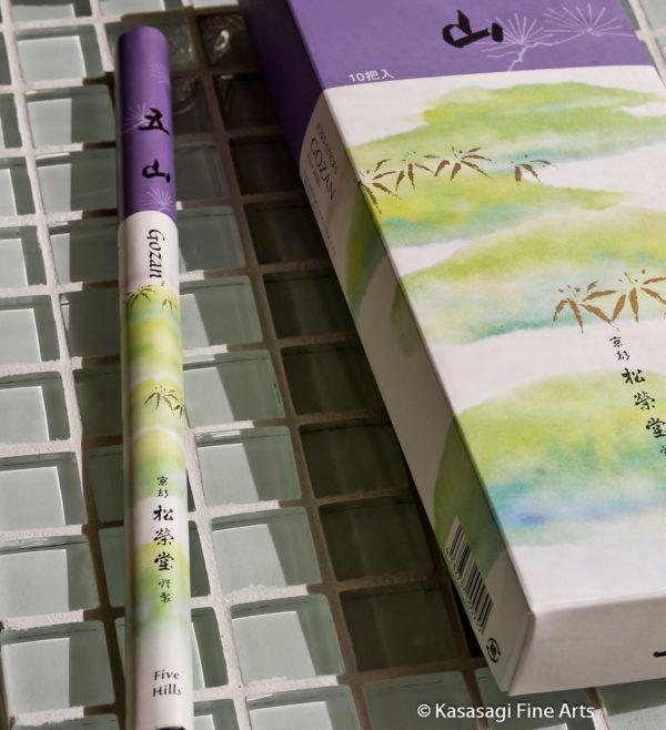 Shoyeido Gozan Five Hills Incense Bundle