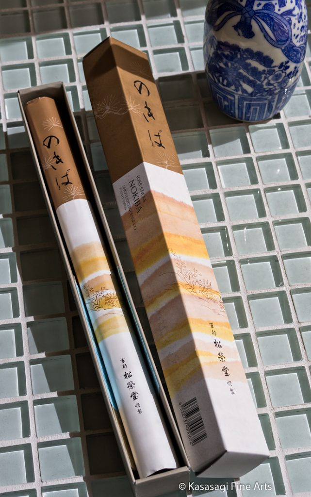 Shoyeido Nokiba Moss Garden Incense 80 Sticks