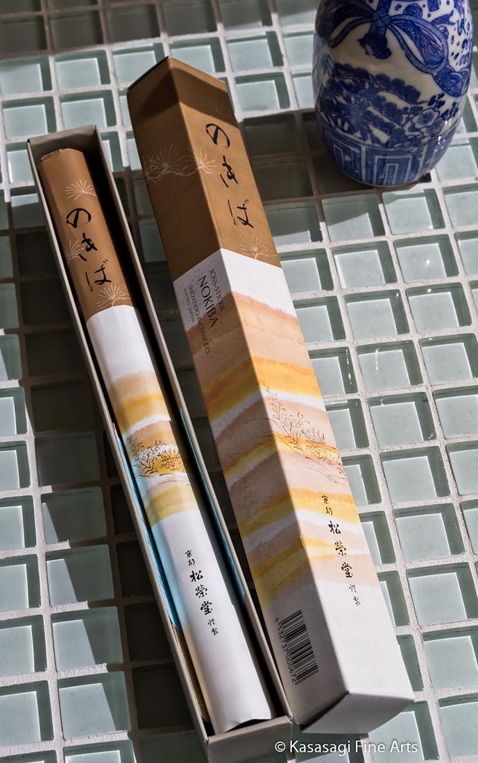 Shoyeido Nokiba Moss Garden Incense 80 Sticks