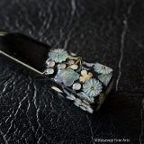 Antique Kanzashi Mother Of Pearl Flowers