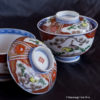 Two EDO Era IMARI Covered Bowls