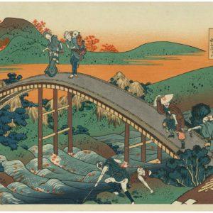 Woodblock Prints by Hokusai and Hiroshige