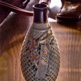 Russo Japanese War Artillery Tokkuri Sake Bottle
