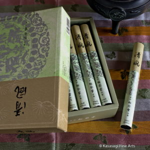 Shoyeido Seifu Fresh Breeze Incense 40 Stick Bundle