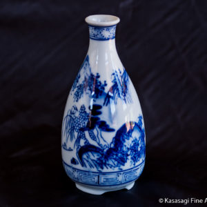 1910 Sometsuke Sake Bottle