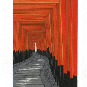Teruhide Kato Senbon Torii Fushimi Inari Shrine