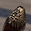 Japanese Bronze Okina Antique Ojime