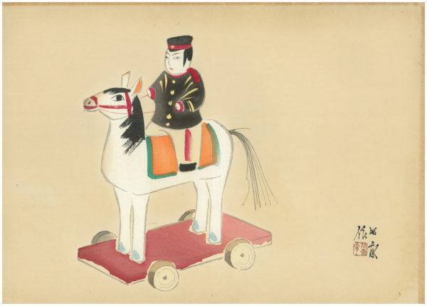 TEKIHO WOODBLOCK PRINT AND ARTIST PROOF 1