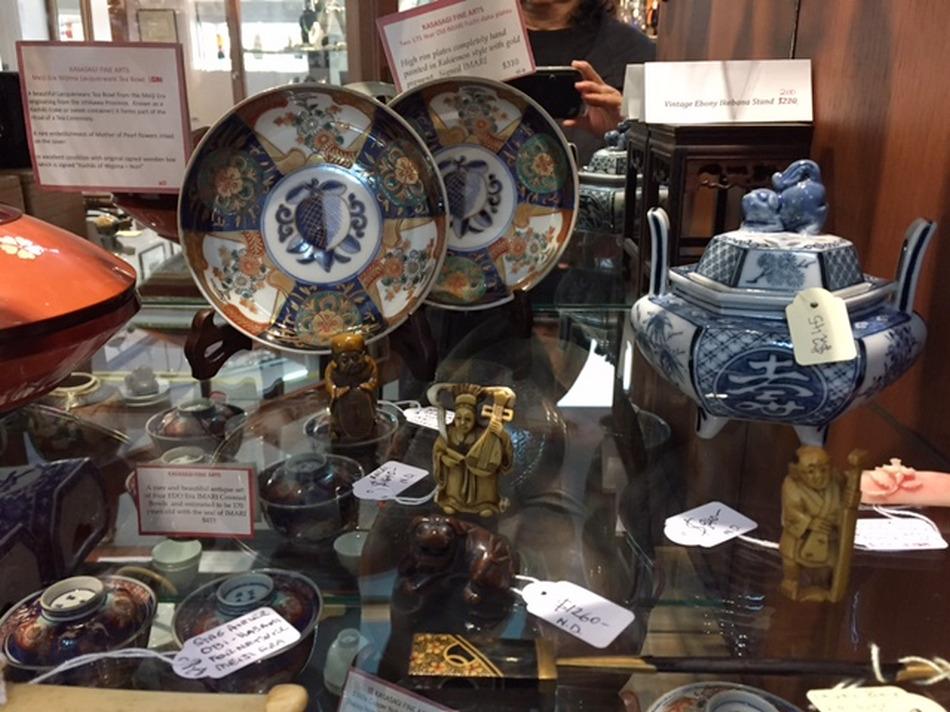 Japanese Antiques at Armadale Antique Centre