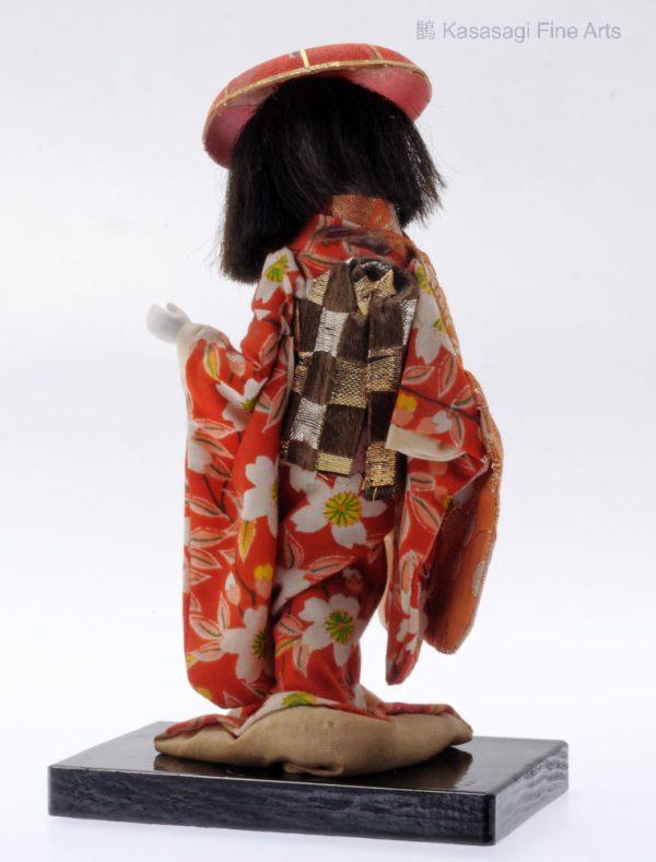 Antique Dancing Geisha Doll