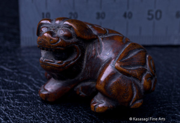 Antique Netsuke Foo Dog