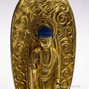 Antique Japanese Temple Buddha