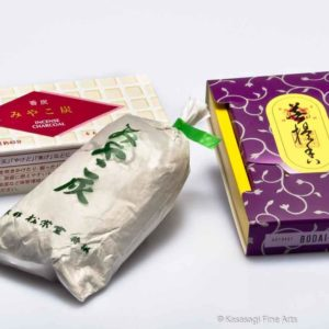 Shoyeido Satori Incense Charcoal Ash And Mica Pack