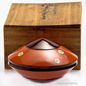 Unique Kashiki Tea Ceremony Bowl