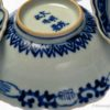 Five Arita Imari Cobalt Blue Dishes