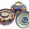 Two Kakiemon Style Covered Bowls