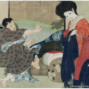 Early 1900s Japanese Lithograph 1