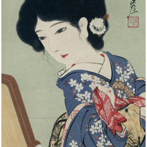 Early 1900s Japanese Lithograph 3