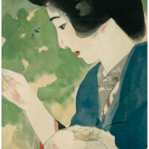 Early 1900s Japanese Lithograph 5