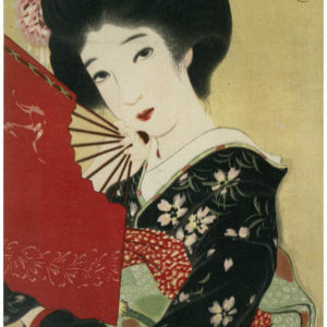 Early 1900s Japanese Lithograph 6