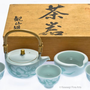 Mid 20th Century Arita Tea Ceremony Tea Set