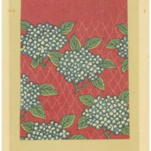Seven Miniature Woodblock Prints